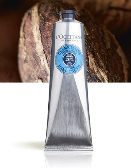Krém na ruce s bambuckým máslem, L'Occitane, koupíte na: cz.loccitane.com, 610 Kč/150 ml