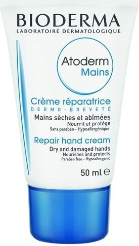 Krém na ruce Atoderm, Bioderma, koupíte v lékárnách, přibližně 100 Kč/50 ml