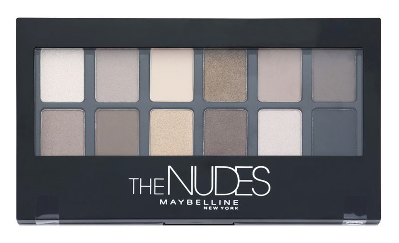 Maybelline, The Nudes Eyeshadow Palette, 240 Kč