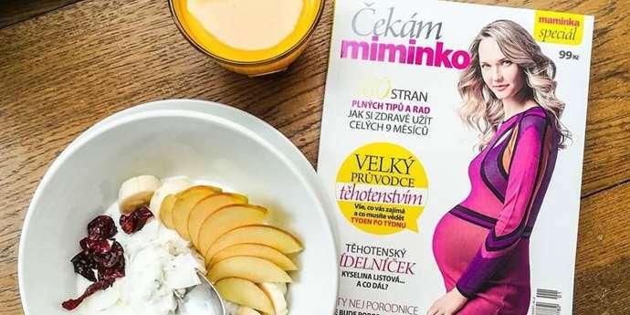 Speciál časopisu Maminka Čekám miminko nesmí chybět žádné těhotné ženě