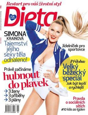 Dubnové číslo magazínu Dieta