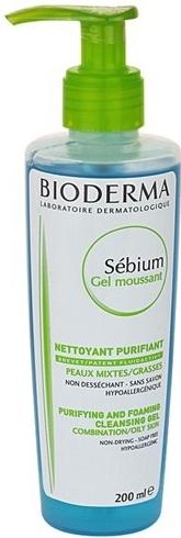 Čisticí gel Sébium Gel moussant, Bioderma, 235 Kč/200 ml