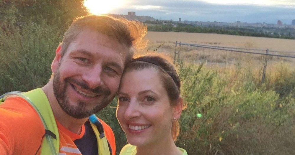 Soňa Kotulková s Michalem Hrabcem stihli během závodu i svatbu
