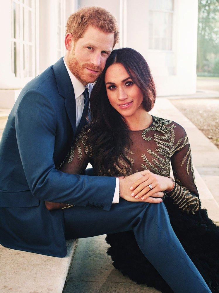 Zásnubní foto prince Harryho a Meghan Markle