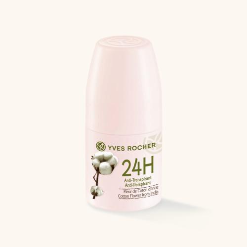 Antiperspirant Květ bavlníku z Indie, Yves Rocher, 99 Kč/50 ml
