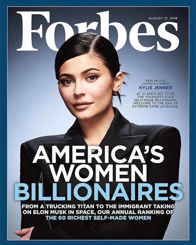 Kylie Jenner na obálce časopisu Forbes