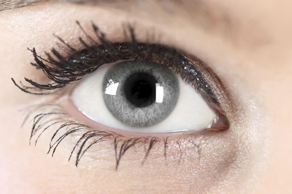Šedé oči