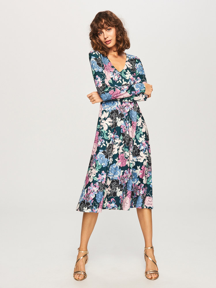 Květované šaty, Reserved, 699 Kč