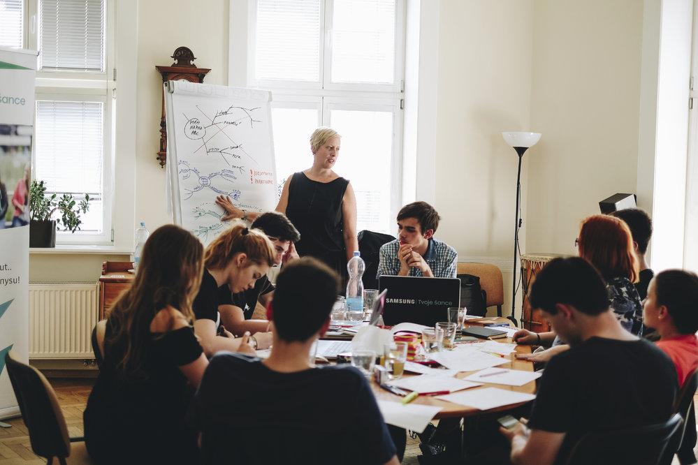 Práce s kariérní poradkyní Petrou Drahoňovskou