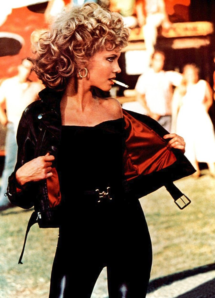 Olivia Newton-John ve filmu Pomáda