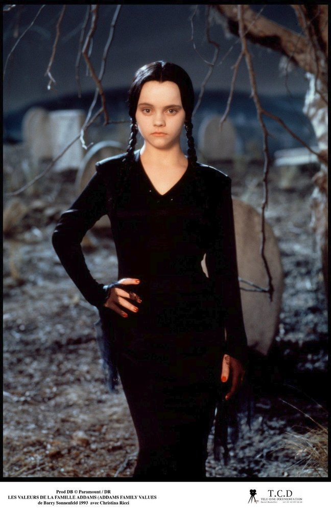 Christina Ricci ve filmu Addamsova rodina