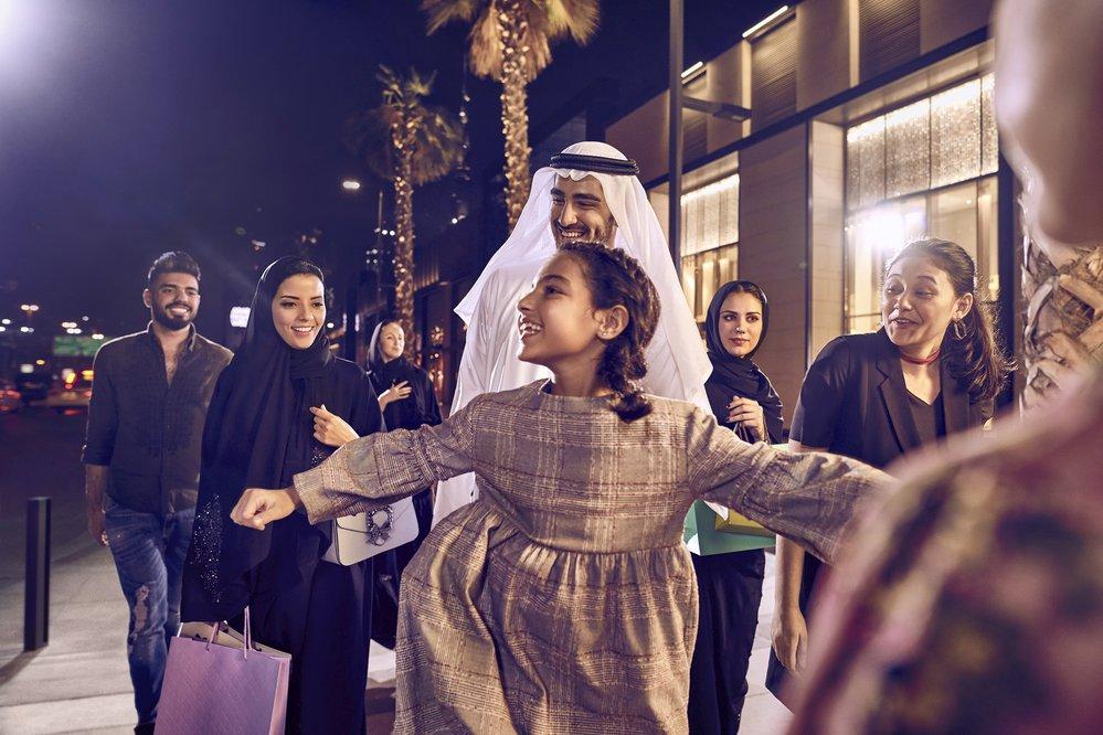 Nákupy v Dubaji