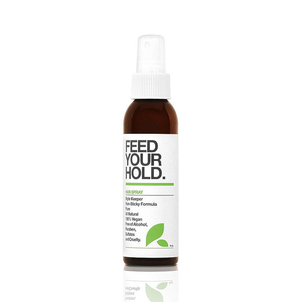 Bio lak na vlasy s vitaminy a minerály Feed Your Hold, Yarok, ladybio.cz, 459 Kč/59 ml