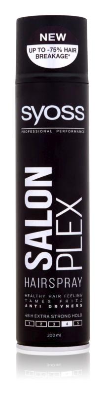 Lak na vlasy se silnou fixací 48 hodin, Syoss Salonplex, 99 Kč/300 ml