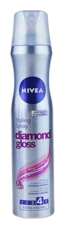 Stylingový sprej Diamond Gloss, Nivea, 72 Kč/250 ml