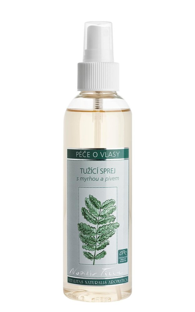 Přírodní alternativa laku na vlasy, Nobilis Tilia, 269 Kč/200 ml