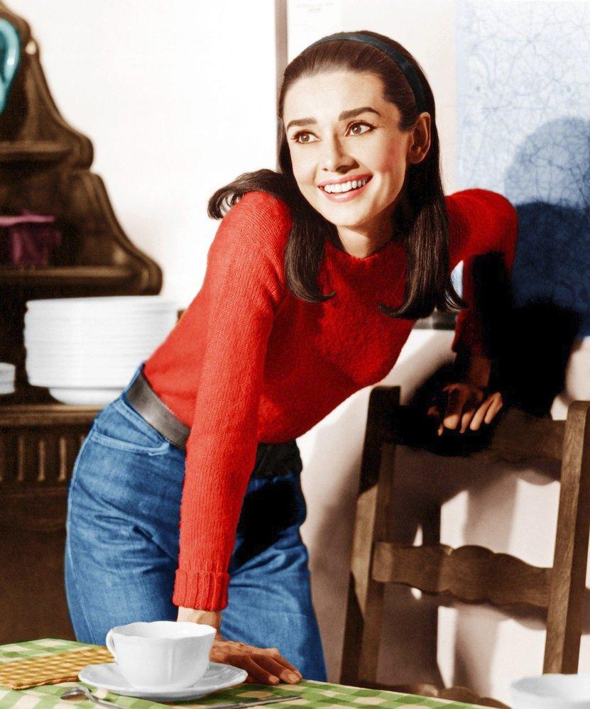 Audrey Hepburn ve filmu Dva na cestě