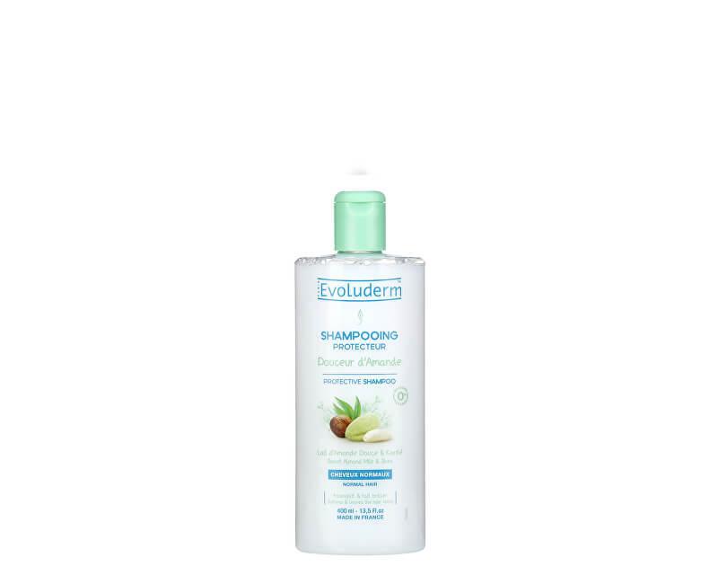 Ochranný šampon pro normální vlasy s mandlovým mlékem, Evoluderm, 119 Kč/400 ml