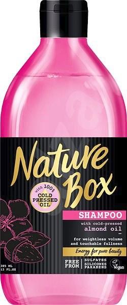 Přírodní šampon pro lesk vlasů Almond Oil, Nature Box, alza.cz, 139 Kč/385 ml