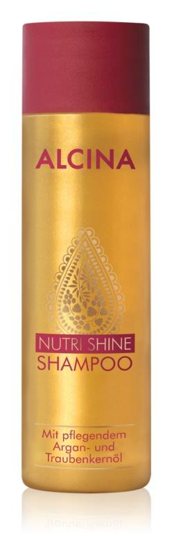 Vyživující šampon s arganovým olejem, Nutri Shine, Alcina, 323 Kč/250 ml
