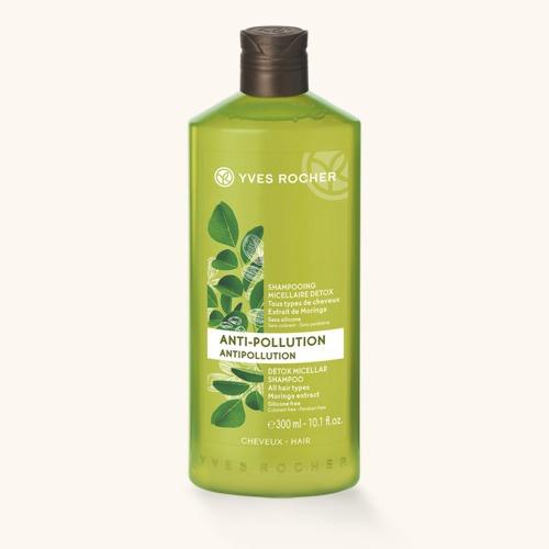 Detoxikační micelární šampon, Yves Rocher, 139 Kč/400 ml