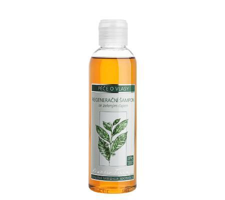 Regenerační šampon se zeleným čajem, Nobilis Tilia, eshop.nobilis.cz, 319 Kč/200 ml