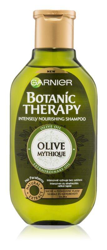 Vyživující šampon pro poškozené vlasy, Botanic Therapy Olive, Garnier, 75 Kč/250 ml
