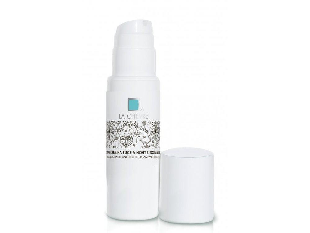 Výživný krém na ruce a nohy s kozím máslem, La Chevre, kosmetikacapri.cz, 213 Kč/100 g