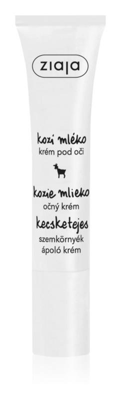 Oční krém pro suchou pleť Kozí mléko, Ziaja, prodává: ruzova10.cz, 88 Kč/15 ml