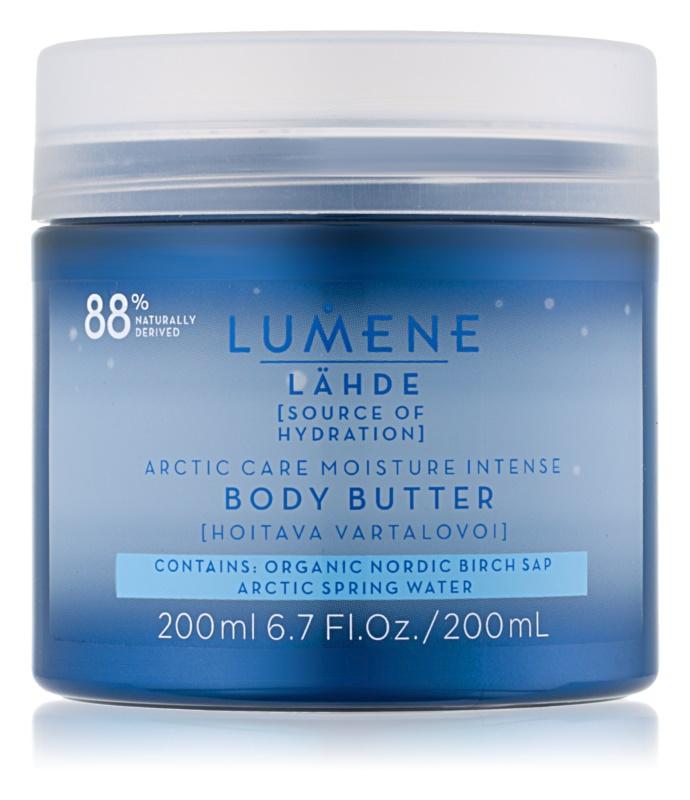 Intenzivní tělové máslo, Lumene Lähde [Source of Hydratation], 519 Kč/200 ml