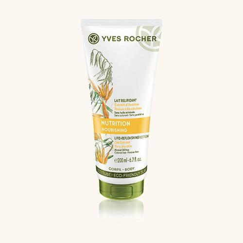 Vyživující tělové mléko na velmi suchou pokožku, Yves Rocher, 249 Kč/200 ml