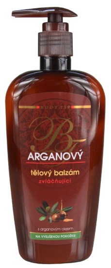 Arganový intenzivní tělový balzám BODY TIP, vivaco.cz, 109 Kč/300 ml