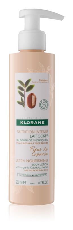 Intenzivně vyživující tělové mléko Cupuacu, Klorane, 269 Kč/200 ml