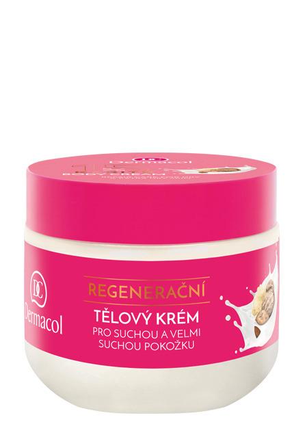 Regenerační tělový krém, Dermacol, 119 Kč/300 ml