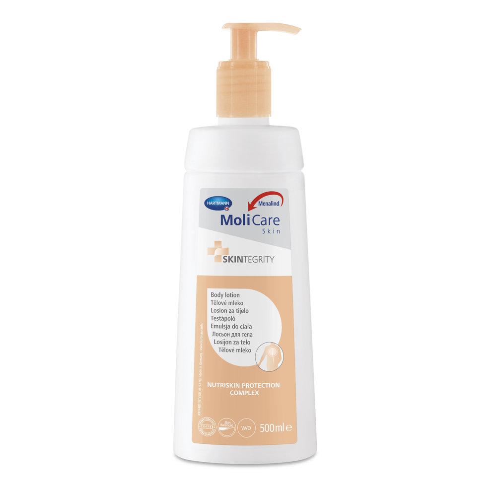 Tělové mléko, MoliCare Skin, 159 Kč/500 ml
