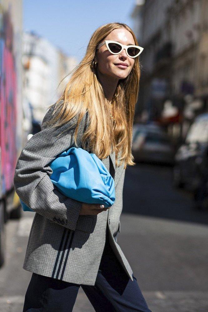 Pernille Teisbaek během fashion weeku v Paříži