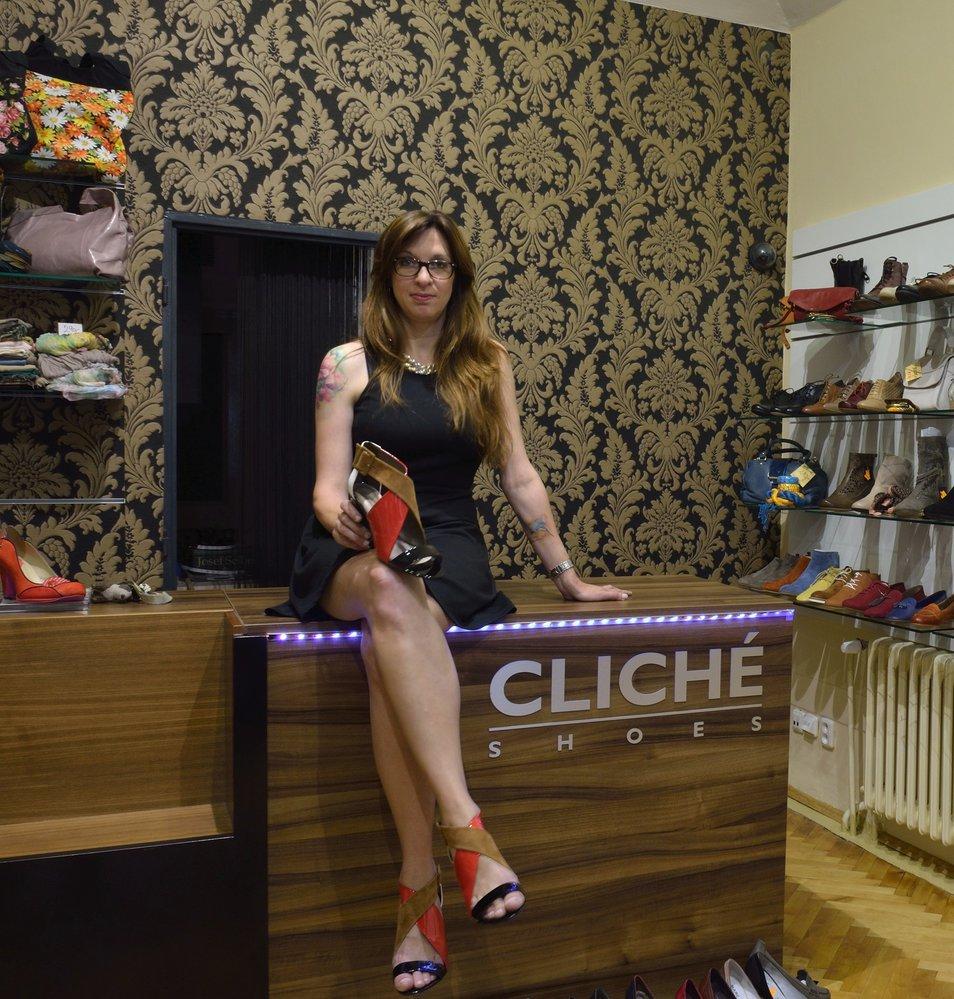 Linda Vaňková, majitelka obchodu Cliché shoes