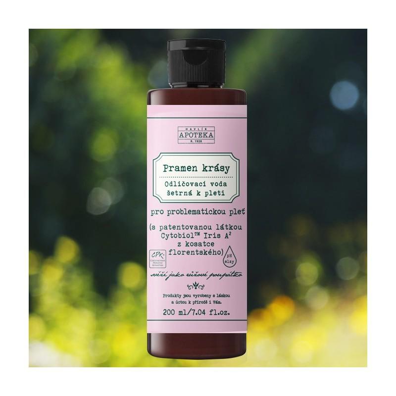 Odličovací voda Pramen krásy, Organická apotéka, 249 Kč/200 ml