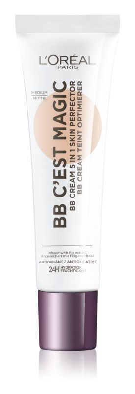 BB krém Wake Up and Glow, odstín medium, L'Oréal Paris, 263 Kč/30 ml