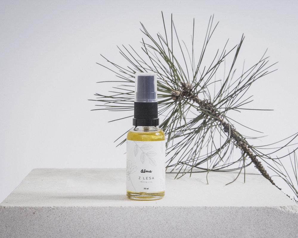 Pleťový olej Z lesa, Alma, prodává CVRK, 360 Kč/30 ml