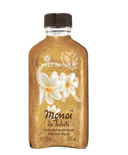 Suchý olej Monoi de Tahiti se třpytkami, Yves Rocher, 299 Kč/100 ml
