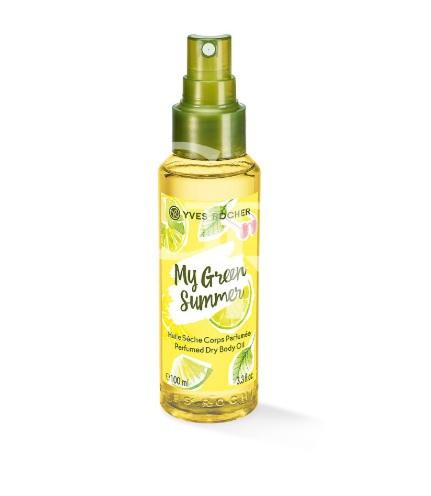 Parfemovaný suchý olej na tělo My Green Summer, Yves Rocher, 229 Kč/100 ml
