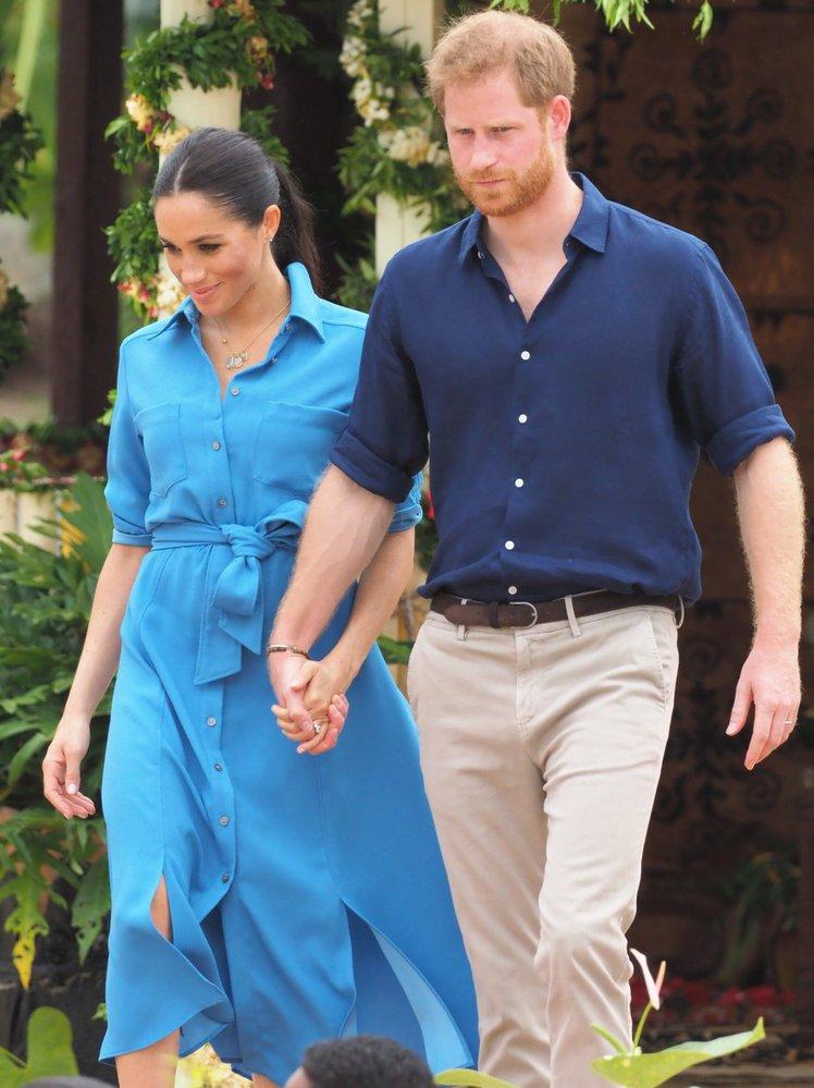 Princ Harry a vévodkyně Meghan na královské cestě po Austrálii v říjnu 2018