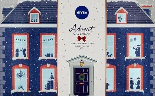 Adventní kalendář, Nivea, mall.cz, 799 Kč