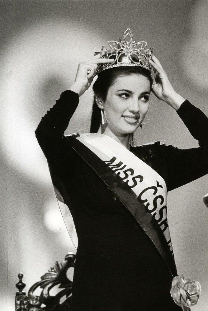 První Miss Československa Ivana Christová