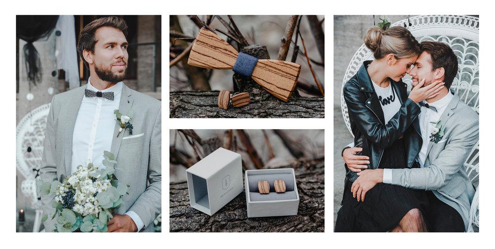 Dřevěné módní doplňky BeWooden