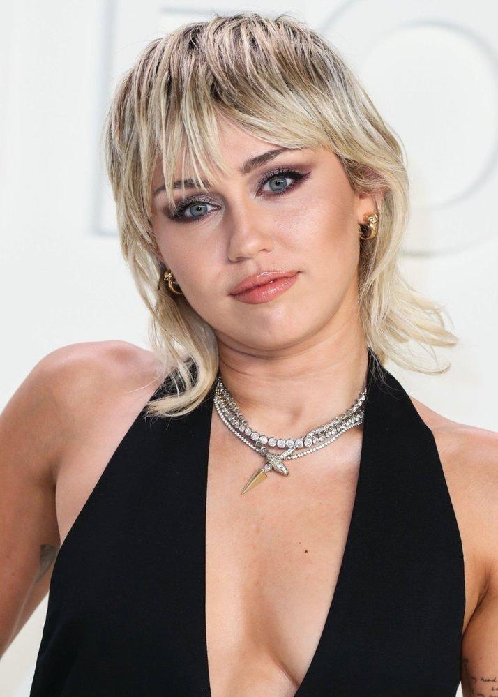Americká herečka a zpěvačka Miley Cyrus