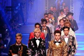 Synové slavných na přehlídce Dolce & Gabbana: Podobají se rodičům?