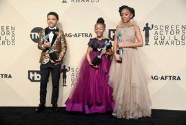 Červený koberec na SAG Awards ovládly dětské hvězdy!