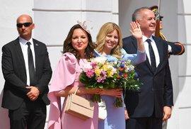 Čaputová a Kisková na inauguraci aneb Britská královská elegance po slovensku